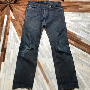 A. P. C. Distressed Jeans
